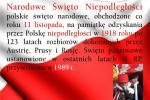 11 LISTOPADA 2016  piątek Święto Niepodległości - jedyna Msza św. o g. 11.00