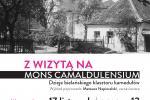 NIEDZIELA 17 listopada o g. 12:00 wykład o Bielanach  Mateusz Napieralski Podziemie Kamedulskie