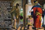 27 PAŹDZIERNIKA 2019   Niedziela - Uroczystość Rocznicy poświęcenia kościoła własnego