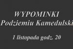 Niedziela, 19 listopada g. 12.00 prezentacja nowego tomiku poetyckiego ks. Jana Sochonia