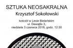 NIEDZIELA 3 CZERWCA 2018 g. 12.00 PODZIEMIE KAMEDULSKIE WYSTAWA