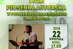 Niedziela, 22 kwietnia 2018 g. 17.00 GRZEGORZ PACZKOWSKI recital